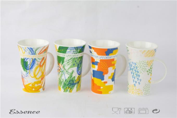 Horn Shape New Bone China Coffee Mugs Two Sizes For Christmas Gifts