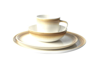 Forma Shine Glazed Casual Stoneware Dinnerware , Modern Dinnerware Sets Eco Friendly