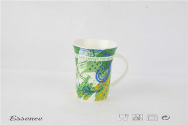 China Horn Shape New Bone China Coffee Mugs Two Sizes For Christmas Gifts supplier