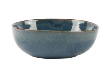 China Organic Porcelain Cereal Bowls 15CM With Reactive Color Glazed FDA Approved supplier